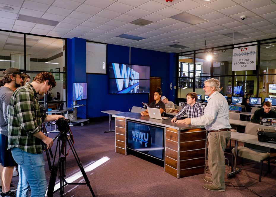 Southern Wesleyan University Media Communication program gaining visibility