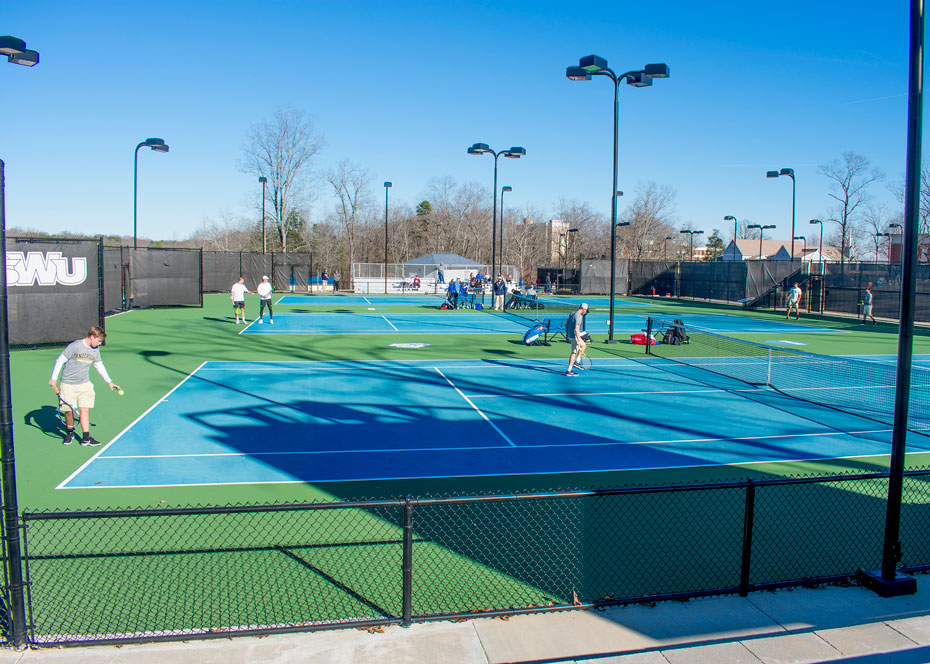 SWU tennis complex awarded as an outstanding facility
