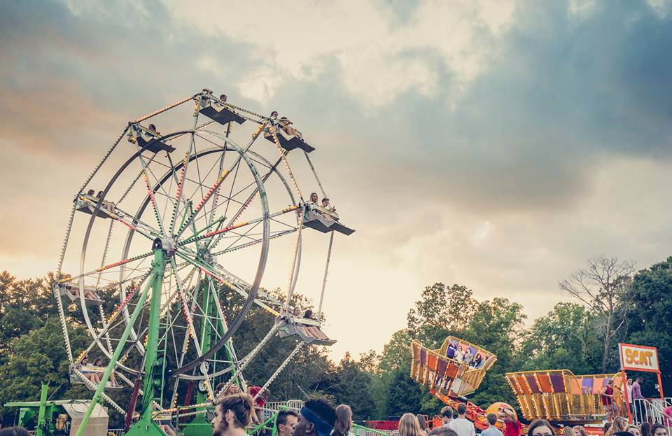 This year's Homecoming Festival will feature a ferris wheel