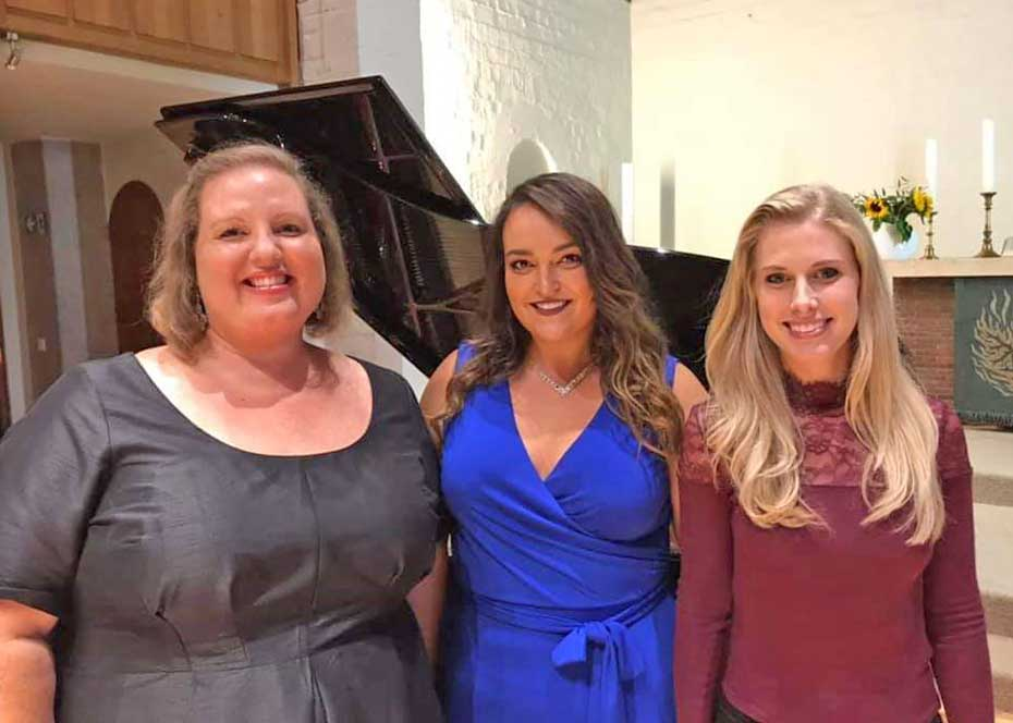 SWU Voice Faculty and Alumnae Train and Perform in Germany