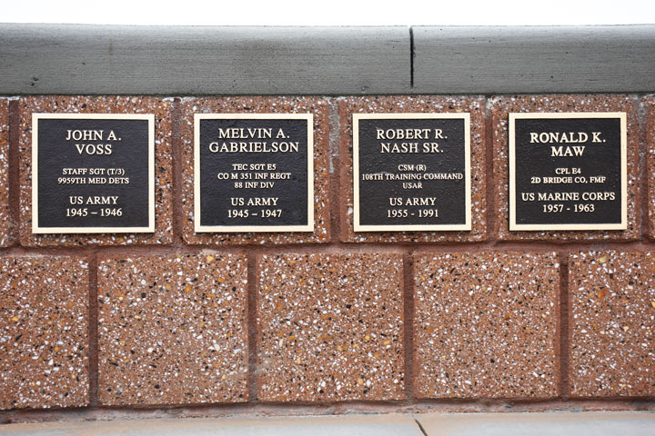 Military Monument Plaques