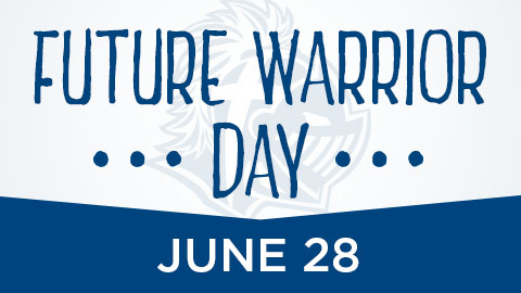 New students can register for the fall semester at Future Warrior Day June 28