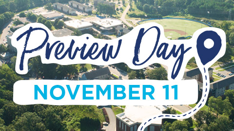 Visit campus on November 11 Preview Day for an immersive Christian college experience.