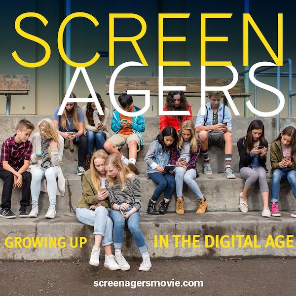 Movie poster for Screenagers: Growing up in the Digital Age